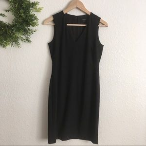 Ann Taylor Black Sleeveless Dress